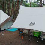 本栖湖キャンプ場で涼しいキャンプ①