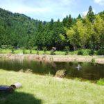 お盆でも予約が取れる 川遊びができて涼しいキャンプ場 平良ふれあいセンター