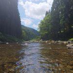 川遊びと涼しい夏キャンプ 平良ふれあいセンターキャンプ場②