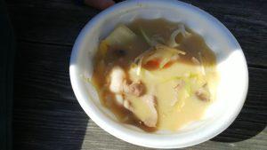 道の駅吉野路黒滝で食べた猪汁
