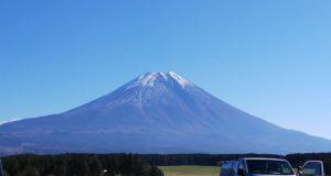 最終日の富士山