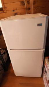 バンガローの冷蔵庫