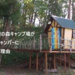 グリム冒険の森キャンプ場がファミリーキャンパーにおすすめな理由