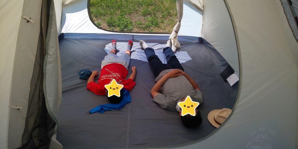 モンテスクリーンツールームドームテント