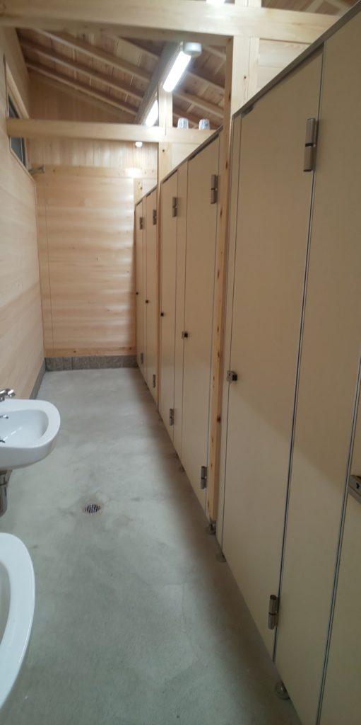 つり橋の里キャンプ場トイレ