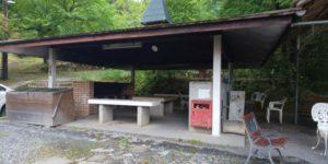能勢温泉キャンプ場ロッジハウス